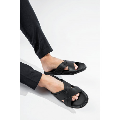 Cross Strap Sliders